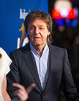 LAS VEGAS, NV - July 14, 2016: Paul McCartney pictured arriving at The Beatles LOVE by Cirque Du Soleil at The Mirage Resort in Las vegas, NV on July 14, 2016. Credit: Erik Kabik Photography/ MediaPunch