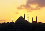 Mosque Sultan Beyazit Camli in Istanbul, Turkey