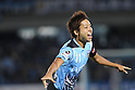 Yu Kobayashi (Frontale), JULY 16th, 2011 - Football : Yu Kobayashi of Kawasaki Frontale celebrates after scoring his team's second goal during the 2011 J.League Division 1 match between between Kawasaki Frontale 3-2 Kashiwa Reysol at Todoroki Stadium in Kanagawa, Japan. (Photo by Kenzaburo Matsuoka/AFLO).