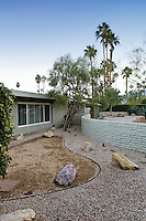 Mid-century architecture home in Palm Springs