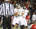 Ole Miss vs. Mississippi State quarterback Tyler Russell (17) at Vaught-Hemingway Stadium in Oxford, Miss. on Saturday, November 24, 2012. Ole Miss won 41-24.