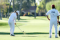 Shiho Oyama (JPN), MARCH 30, 2011 - Golf : Shiho Oyama of Japan in action with her caddie during pro-am round of the LPGA Kraft Nabisco Championship at Mission Hills Country Club in Rancho Mirage, California, USA. (Photo by Yasuhiro JJ Tanabe/AFLO).