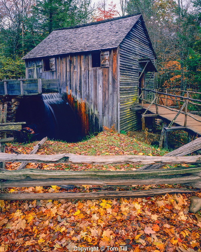 Cable Mill, Great Smokey Mountains National Park, Tennessee, Cades Cove, October