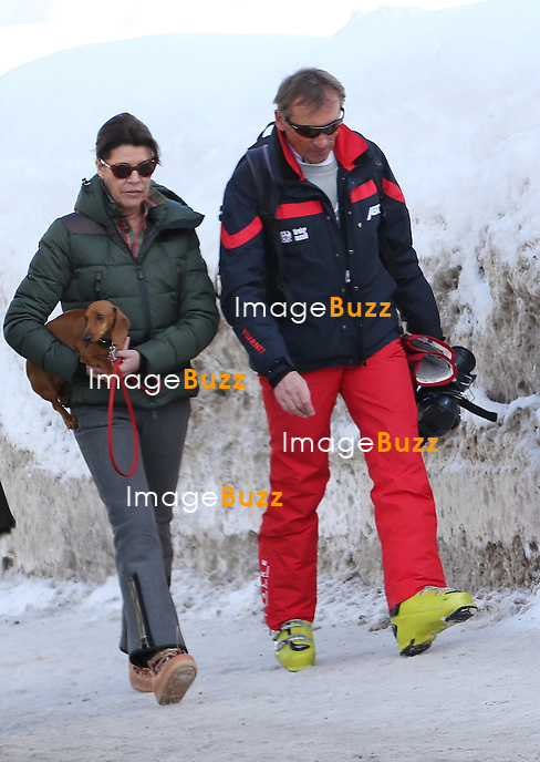 PRINCESS CAROLINE OF HANOVER AND DAUGHTER ALEXANDRA / February 17, 2013-Zurs (Austria)-Princess Caroline of Hanover and daughter Alexandra of Hanover are enjoying some ski vacation with a friend in a luxurious hotel in Austria. The mom and daughter seemed to enjoy skiing in Austria, they even took their dogs.