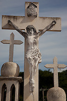 Mexican Cemetery 9 - Photograph taken in El Panteón Cementario, also know as Cementario Viejo or old cemetery, in Puerto Vallarta, Mexico.