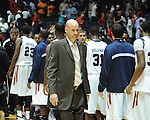 "Ole Miss head basketball coach Andy Kennedy vs. Illinois State in a National Invitational Tournament game at the C.M. ""Tad"" Smith Coliseum in Oxford, Miss. on Wednesday, March 14, 2012. Illinois State won 96-93 in overtime."
