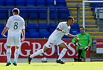 St Johnstone v Motherwell...11.09.10  .Nicholas Blackman celebrates his goal.Picture by Graeme Hart..Copyright Perthshire Picture Agency.Tel: 01738 623350  Mobile: 07990 594431