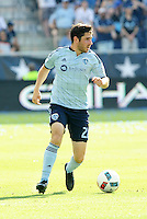 Kansas City, KS. - June 19, 2016: Sporting Kansas City defeated FC Dallas 2-0 in a MLS game at Children's Mercy Park.