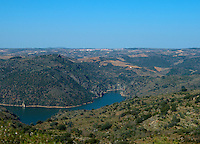 View over Duero , Fermoselle spain castile and leon