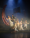 "London, UK. 22.02.2016. Mark Bruce Company presents ""The Odyssey"" at Wilton's Music Hall. Picture shows: Chris Akrill, Jordi Calpe Serrats, Natalie Dodd, Eleanor Duval, Nicola Guarino, Grace Jabbari, Hannah Kidd, Wayne Parsons, Chris Tandy, Lia Ujcic, Alan Vincent. Photograph © Jane Hobson."