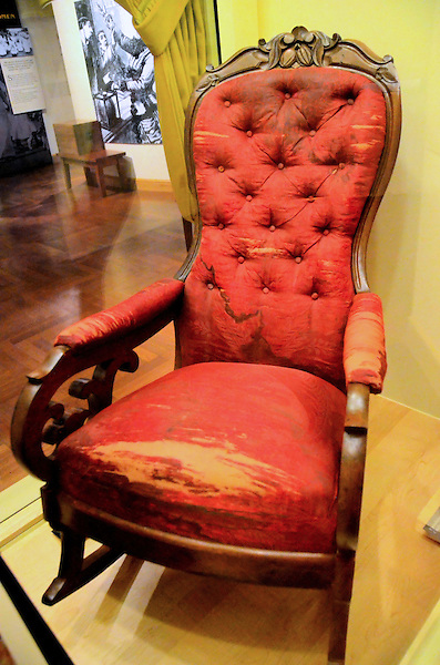 Abe Lincoln Assassination Chair At Henry Ford Museum In