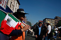 Mexicans celebrate the may 5 or 5 de Mayo annual commemorations in Harlem New York May 6 , 2012.  Photo by Kena Betancur / VIEWpress.