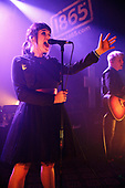 CREEPER - keyboards and backing vocals Hannah Greenwood - performing live at The 1865 in Southampton UK - 31 Mar 2017.  Photo credit: Paul Harries/IconicPix