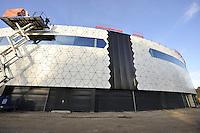 SCHAATSEN: HEERENVEEN: IJsstadion Thialf, 03-11-2015, Ver(nieuw)bouw, ©foto Martin de Jong