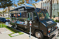 Komodo, Gourmet Food Truck, Mid Wilshire, Los Angeles CA. Miracle Mile district.