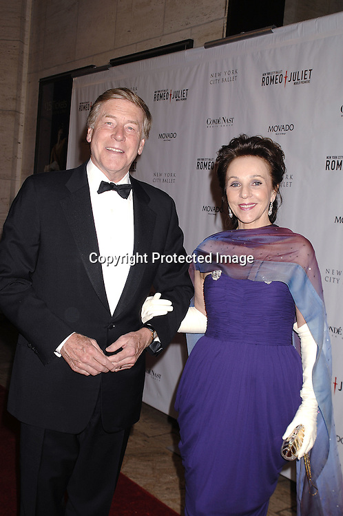 George and Sheila Stephenson ..arriving at The New York City Ballet Annual Spring Gala ..on May 1, 2007 at The New York State Theatre. The World Premiere of Romeo and Juliet was danced. ..Robin Platzer, Twin Images......212-935-0770..