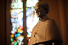 Statue of Fr. Moreau in the Basilica of the Sacred Heart