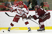 Dan Ford (Harvard - 5), Nathan Sinz (Colgate - 24) - The Harvard University Crimson defeated the visiting Colgate University Raiders 6-2 (2 EN) on Friday, January 28, 2011, at Bright Hockey Center in Cambridge, Massachusetts.