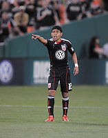DC United midfielder Christian Castillo (12). The Colorado Rapids defeated DC United 1-0 at RFK Stadium, Saturday May 15, 2010.