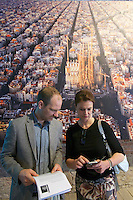 Venice, Italy - 15th Architecture Biennale 2016, &quot;Reporting from the Front&quot;.<br /> Arsenale.<br /> Urban Footprints.