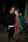 Andrew Rosen and Designer Stacey Bendet at alice+olivia by Stacey Bendet & David Choe Present a Night of Fashion and Art at 450 West 14th Street, NY