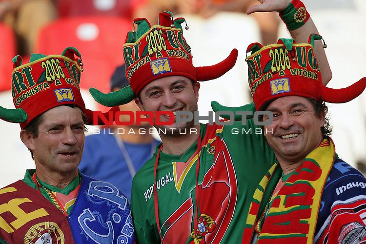 FIFA WM 2006 -  Round of Sixteen - / Viertelfinale <br /> Play     #52 (25-Jun) - Portugal vs Niederlande ( Holland ) <br /> <br /> Fan Feature WM deutschland vor dem Spiel<br /> <br /> Foto &copy; nordphoto