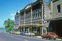 Honolulu: Nuuanu Ave. looking towards Nimitz Freeway. Photo '82.
