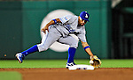 23 April 2010: Los Angeles Dodgers' shortstop Rafael Furcal in action against the Washington Nationals at Nationals Park in Washington, DC. The Nationals defeated the Dodgers 5-1 in the first game of their 3-game series. Mandatory Credit: Ed Wolfstein Photo