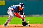 12 March 2009: Washington Nationals' infielder Ian Desmond warms up prior to a Spring Training game against the Atlanta Braves at Disney's Wide World of Sports in Orlando, Florida. The Braves defeated the Nationals 6-2 in the Grapefruit League matchup. Mandatory Photo Credit: Ed Wolfstein Photo