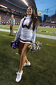 Sept 01, 2012:  Washington cheerleader Julie Levine against San Diego State.  Washington defeated San Diego State 21-12 at CenturyLink Field in Seattle, Washington...
