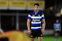 Adam Hastings of Bath United looks on. Aviva A-League match, between Bath United and Bristol United on September 19, 2016 at the Recreation Ground in Bath, England. Photo by: Patrick Khachfe / Onside Images