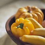 bowl of yellow vegetables containing vitamin c