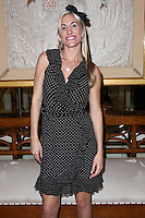 BEVERLY HILLS, CA, USA - MARCH 28: Noelle Leanne at the Versace Unveiling Of The 1st Pop Recording Artist Superhero - KUBA Ka's Performance Outfits. Designed by the legendary fashion hosuse - Donatella Versace. For the Benefit of the Face Forward Foundation (Plastic Surgery for Destroyed Faces from Violence). Pop entertainer TV personality KUBA Ka, together with VERSACE, unveiled Kuba Ka's new Versace images, for the First Pop Artist/Superhero of the World. He has become the inspiration of Donatella's newest and wildest creations and will celebrate the launch of his new power house conglomerate - KUBA Ka Empire Inc. in collaboration with the sensational fashion house - VERSACE on Friday, his birthday at a red carpet media and celebrity event at the luxurious Peninsula Hotel in Beverly Hills held at the Peninsula Hotel on March 28, 2014 in Beverly Hills, California, United States. (Photo by Xavier Collin/Celebrity Monitor)