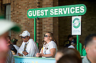 September 24, 2016; Guest Services booth at a football game. (Photo by Matt Cashore)