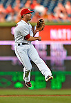 17 May 2012: Washington Nationals second baseman Danny Espinosa in action against the Pittsburgh Pirates at Nationals Park in Washington, DC. The Pirates defeated the Nationals 5-3 in the second game of their 2-game series. Mandatory Credit: Ed Wolfstein Photo