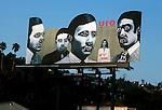 UFO billboard on the Sunset Strip 1978