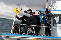 Final. Mavericks Surf Contest in Half Moon Bay, California on February 13th, 2010.
