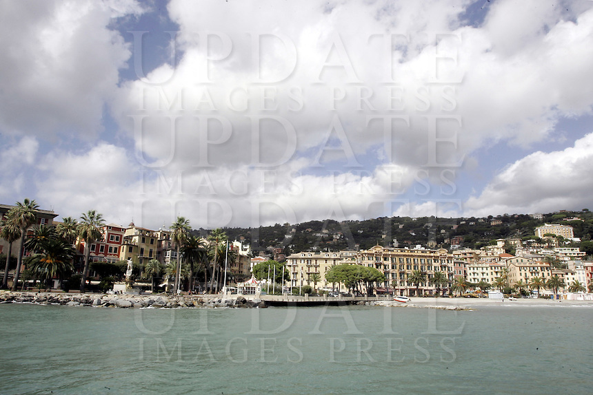 Una veduta di Santa Margherita Ligure.<br /> Waterfront of Santa Margherita Ligure.<br /> UPDATE IMAGES PRESS/Riccardo De Luca
