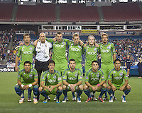 Seattle Sounders starting eleven. In a Major League Soccer (MLS) match, the Seattle Sounders FC defeated the New England Revolution, 2-1, at Gillette Stadium on October 1, 2011.