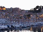 Fishingboats in the harbour at Port Soller, Majorca, Spain