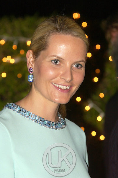 Crown Prince Haakon & Crown Princess Mette-Marit of Norway visit Thailand..Reception at the Ambassadors Residence..