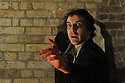 "London, UK. 18/04/2011. Belt Up Theatre's all male production of ""MacBeth"" opens at The House of Detention, Clerkenwell, London. James Wilkes as 'Lady MacBeth' (""Out damned spot..""). Photo credit should read: JANE HOBSON"