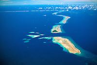 Various atolls