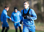 St Johnstone Training&hellip;.27.12.16<br />Blair Alston pictured in training this morning at McDiarmid Park with Callum Davidson ahead of tomorrow&rsquo;s game against Rangers<br />Picture by Graeme Hart.<br />Copyright Perthshire Picture Agency<br />Tel: 01738 623350  Mobile: 07990 594431