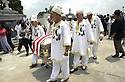 Jazz funeral for musician Harold Dejan, 2002
