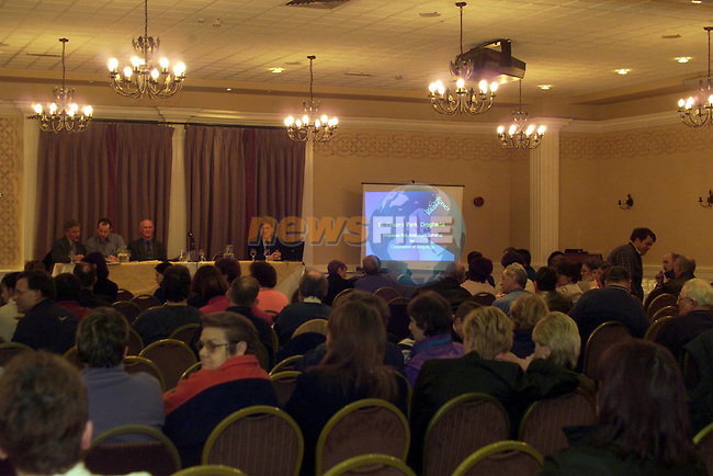 St Finians refurbishment meeting in the Westcourt hotel..pic: Newsfile