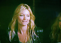 Glastonbury Festival on the BBC. Kate Moss watches The Kills