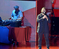 MIAMI, FL - OCTOBER 29: DJ Extreme and Enrique Santos onstage at the Jennifer Lopez Gets Loud for Hillary Clinton at GOTV Concert in Miami at Bayfront Park Amphitheatre on October 29, 2016 in Miami, Florida. Credit: MPI10 / MediaPunch