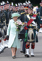 Queen Elizabeth II attends Ceremony of The Keys on Canada Day - Scotland
