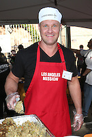 Los Angeles, CA - NOVEMBER 23: Zachery Ty Bryan, At Los Angeles Mission Thanksgiving Meal For The Homeless At Los Angeles Mission, California on November 23, 2016. Credit: Faye Sadou/MediaPunch